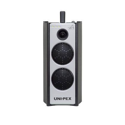 ユニペックス 防滴型ハイパワーワイヤレスアンプCDプレーヤー(SD/USB付)内臓 WA-872CD