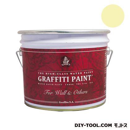 ビビットヴアン グラフィティーペイント ウォール&アザーズ Lemon tree 10L (GFW-01)  VIVID VAN 塗料 水性塗料