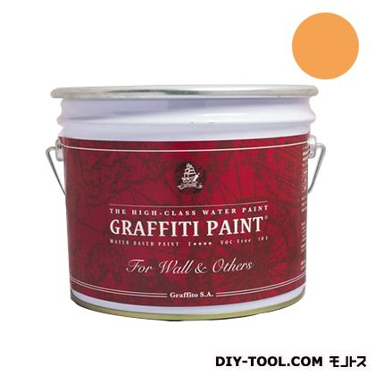 ビビットヴアン グラフィティーペイント ウォール&アザーズ Exotic Marigold 10L (GFW-05) VIVID VAN 塗料 水性塗料