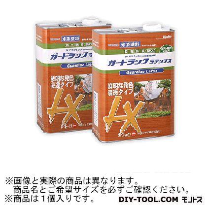 和信化学工業 ガードラックラテックス W・Pステイン(木材保護塗料) LX-1 ブラック 14Kg 58161