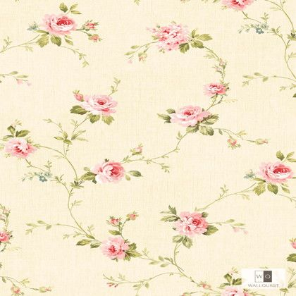 WALLQUEST 輸入壁紙 THE BLOOMING HOUSE6 10m DL20503