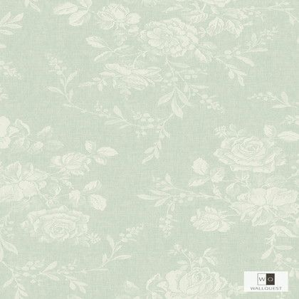 WALLQUEST 輸入壁紙 THE BLOOMING HOUSE6 8.2m FG70202