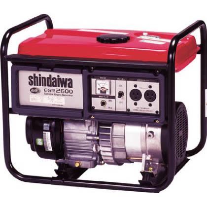 やまびこ 新ダイワ ガソリン発電機50HZ 2.2KVA標準 EGR2600A 1台  EGR2600A 1 台