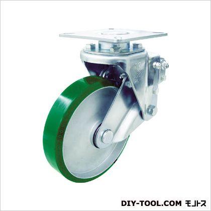 ユーエイ 重荷重用クッションキャスター 自在ウレタン車輪 200径 SKYS200UWF