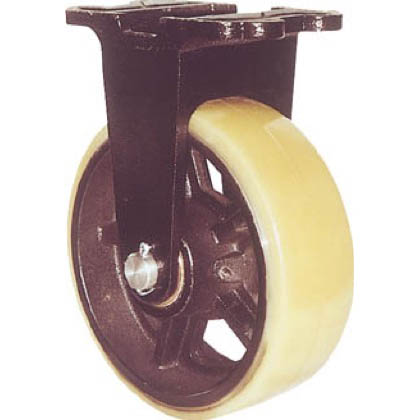 ヨドノ 鋳物重量用キャスター (×1個)  MUHAMK250X90