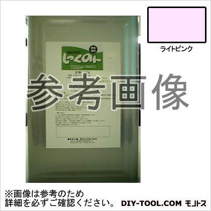 薬仙石灰 しっくのん 室内用しっくい塗料 ライトピンク 16kg