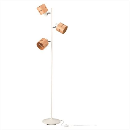 ヤザワ 3灯ウッドセードフロアスタンドナチュラル ナチュラル (FSX60X01NA)