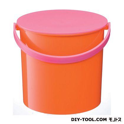 年間定番 吉川国工業所 バケツマルチポット 商品 オレンジ M 209652
