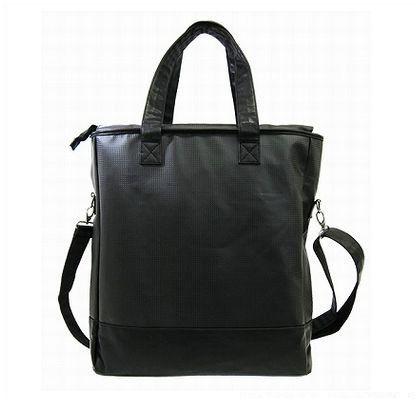 山本洋品雑貨 BI-2 バッグ 合皮ブラック (172350)