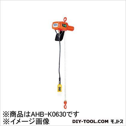象印 単相200V小型2速式電気チェーンブロック60KG AHB-K0630