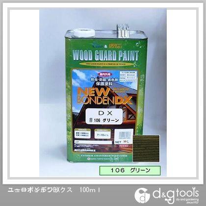 カクマサ/大阪塗料 ニューボンデンDX  木材保護塗料(防虫防腐着色塗料) グリーン 3.5L  106