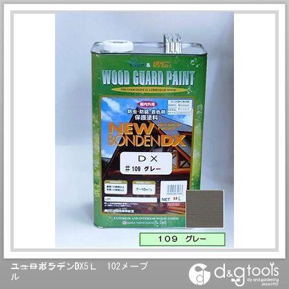 カクマサ/大阪塗料 ニューボンデンDX 木材保護塗料(防虫防腐着色塗料) グレー 3.5L  109