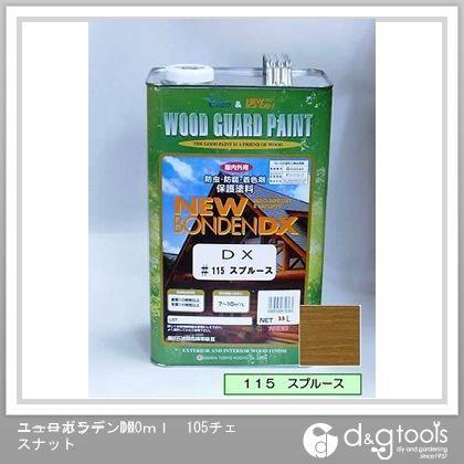 カクマサ/大阪塗料 ニューボンデンDX 木材保護塗料(防虫防腐着色塗料) スプルース 3.5L  115