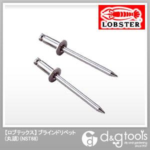 ロブテックス ブラインドリベット (ステンレスフランジ ステンレスシャフト)  NST68 1000 本