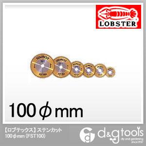 ロブテックス ステンカット φ100mm (FST100) 金属用チップソー 金属用 金属 チップソー