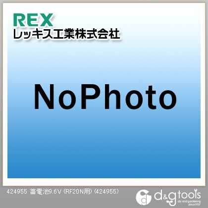 レッキス 蓄電池9.6V (RF20N用)  424955