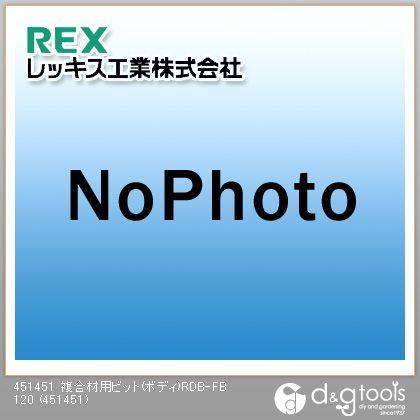 レッキス 複合材用ビット(ボディ)RDB-FB 120  451451
