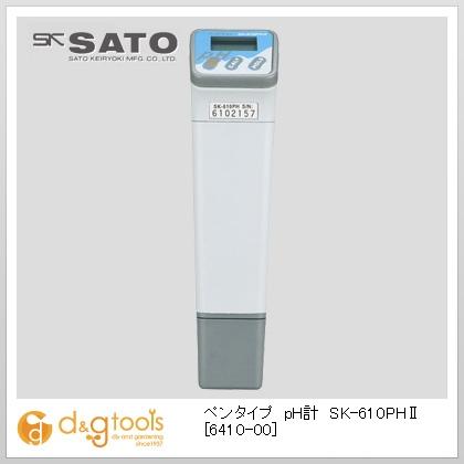 SATO ペンタイプpH計 SK-610PH II  6410-00