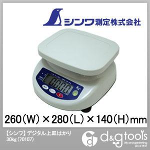 シンワ測定 デジタル上皿はかり 30kg 70107