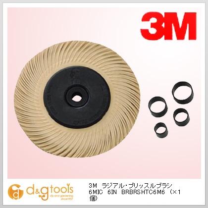 3M(スリーエム) ラジアル・ブリッスルブラシ 6MIC 6IN (BRBRSHTC6M6)