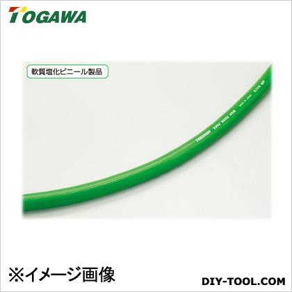 十川産業 スーパーウォーターホース 緑 12.7×19×100m SW-12