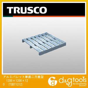 トラスコ アルミパレット単面二方差型 1200×1200×120  TSBT1212
