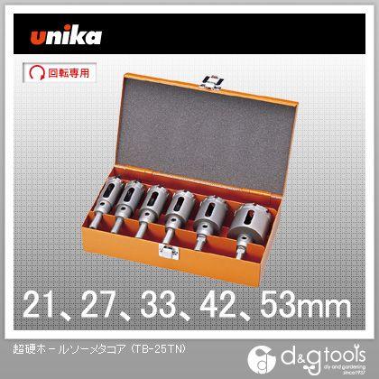 ユニカ 超硬ホールソーメタコア 電気工事用セット (TB-25TN)