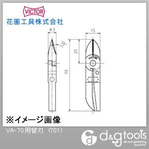 供VICTOR(花園工具)VA-70使用的替刃(701)