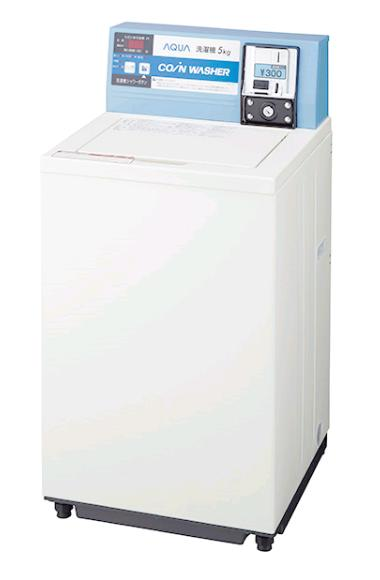 安心の【正規ルート商品】です。 アフターサービス(修理)はメーカーの技術者が直接ご訪問いたします。 【全国送料無料】コインランドリー機器販売 安心の【正規ルート商品】日本製【在庫有:約3営業日以内出荷】MCW-C70A【最新型】業務用コイン式全自動洗濯機 AQUA 渦巻式 (パールホワイト)洗濯容量7.0kg  アクア AQUA ハイアール(旧サンヨー電機)【送料無料】【カードOK】【全国送料無料(離島のみ有料】