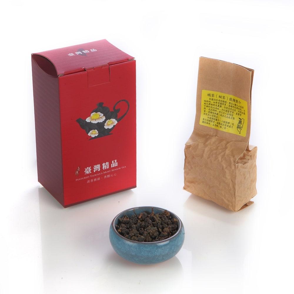 20倍ポイント 対象アイテム 蜒茶美人蜜香烏龍 ギフトボックス (75gx2パック) 台湾茶【GEMCROWN】【台湾直送】