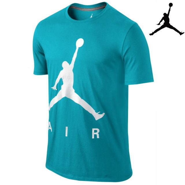 NIKE JORDAN ナイキ ジョーダン【Tシャツ】【海外限定】【即日発送】JORDAN JUMPMAN AIR PEARLESCENT T-SHIRTTurquoise Blue/White・サイズ:M-XLメンズ・ユニセックス