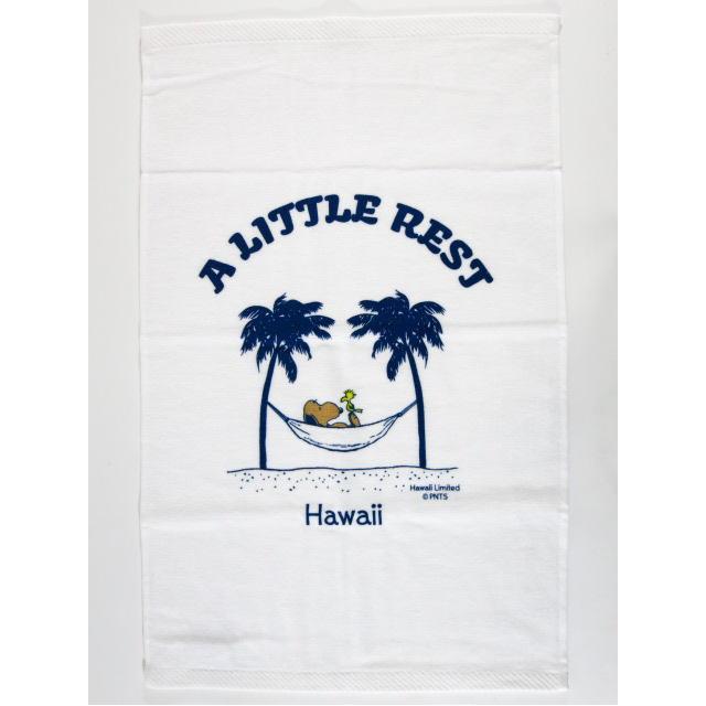 Moni Honolulu モニホノルル【ハワイ限定・Hawaii直輸入】日焼けスヌーピー・タオル・スポーツタオルスヌーピー×A LITTLE REST