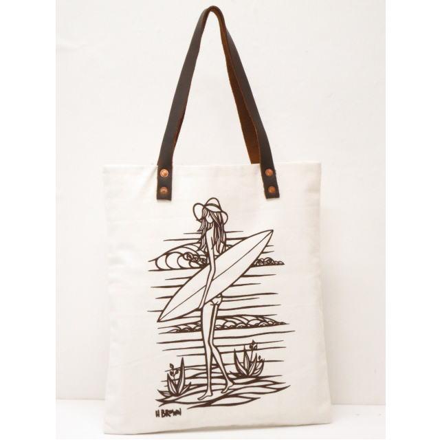 ヘザーブラウン HEATHER BROWNトートバッグ【ハワイ】【HAWAII直輸入】【送料無料】Sanday Tote Bag