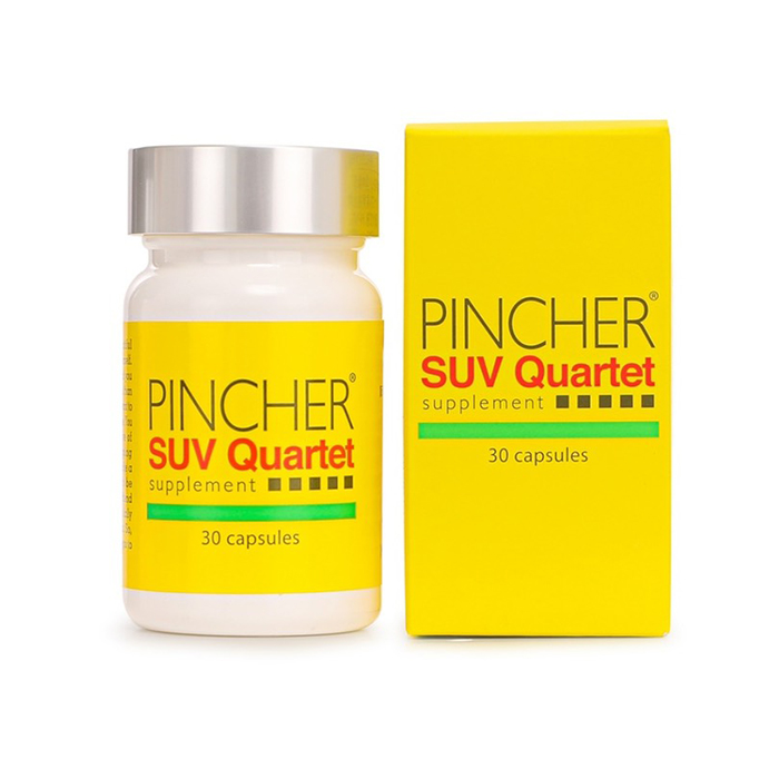 焼きたくない私が内側からできること 日焼け対策サプリ SUV 新作 Quartet カルテットサプリメント Supplement PINCHER ピンシャー 未使用品