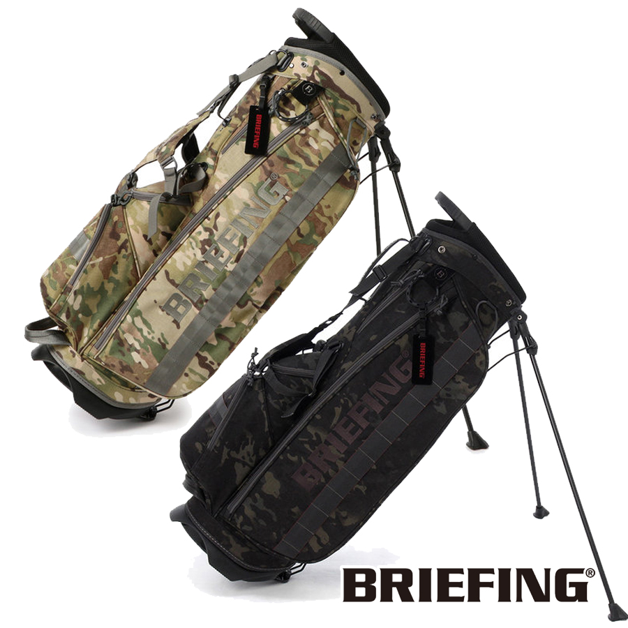 【3000円引クーポン有】スタンドキャディバッグ メンズ ブリーフィング BRIEFING CB CR-4 #01 ゴルフ BRG191D02