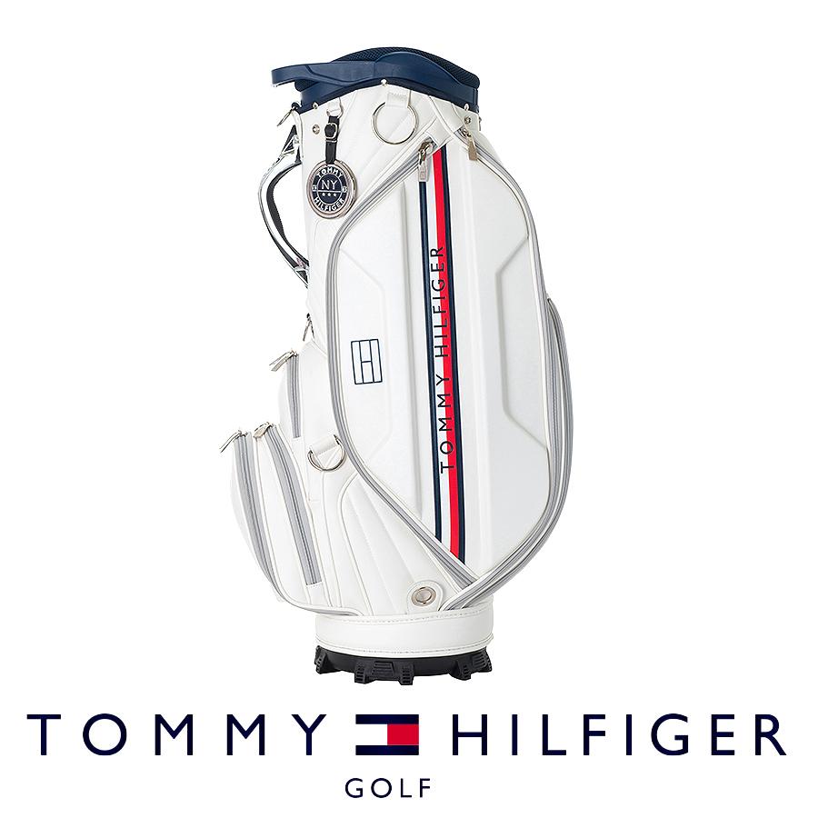 【割引クーポン有】キャディバッグ ゴルフバッグ メンズ レディース トミー ヒルフィガー LIMITED CADDIE BAG THMG9FC2