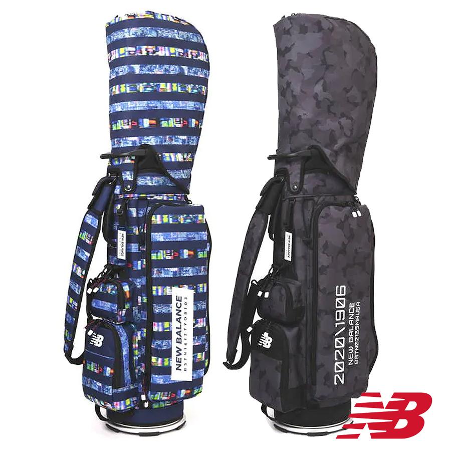 【GWも営業】【2100円引クーポン有】キャディバッグ ニューバランス NEW BALANCE ゴルフ ゴルフバッグ 0180002
