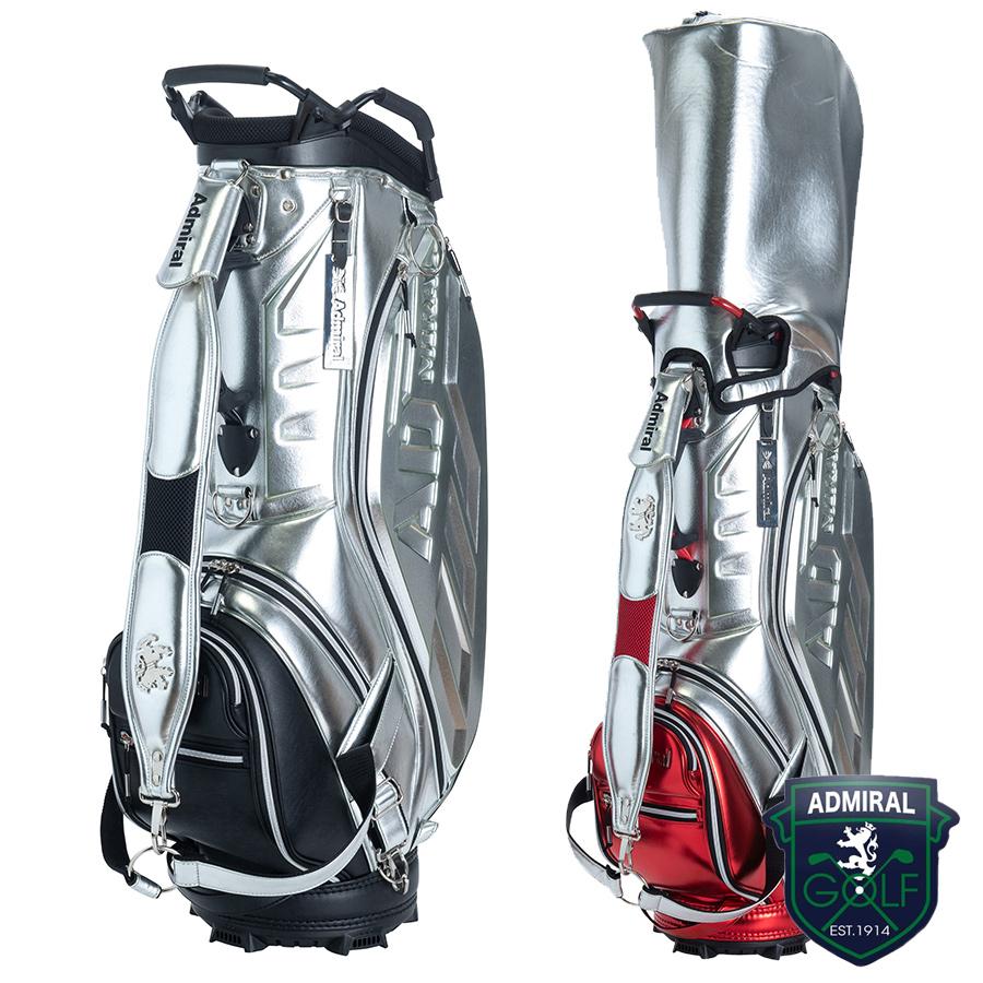 【GWも営業】【2100円引クーポン有】キャディバッグ アドミラル ADMG0SC1 ゴルフ用品 メンズ レディース