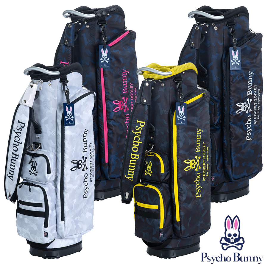 【GWも営業】【2100円引クーポン有】キャディバッグ サイコバニー PBMG0SC5 ゴルフ用品 メンズ レディース