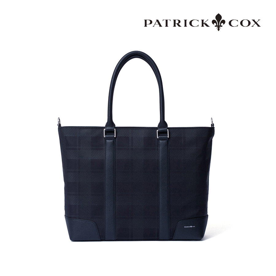【GWも営業】ブリティッシュチェック トートバック パトリックコックス PATRICK COX PXMH0BT2