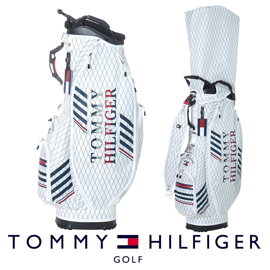 【GWも営業】【2100円引クーポン有】キャディバッグ トミー ヒルフィガー THMG0SC1 ゴルフ用品 メンズ レディース