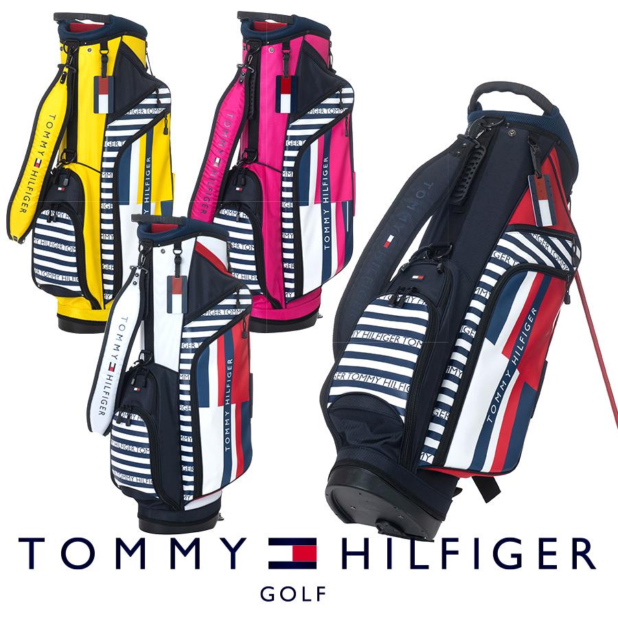 【GWも営業】【2100円引クーポン有】スタンドキャディバッグ トミー ヒルフィガー THMG0SC8 ゴルフ用品 メンズ レディース