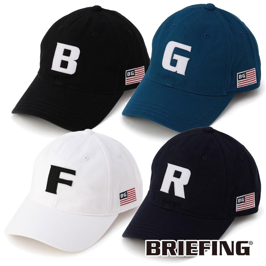 メーカー再生品 BRIEFING おすすめ キャップ ゴルフ 帽子 メンズ MENS BRG211M52 CAP INITIAL ブリーフィング