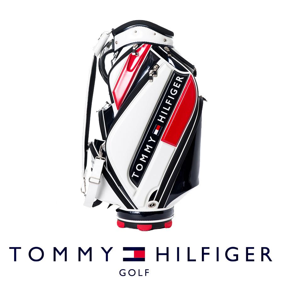 【割引クーポン有】キャディバッグ トミー ヒルフィガー THMG7FC1 ゴルフ用品