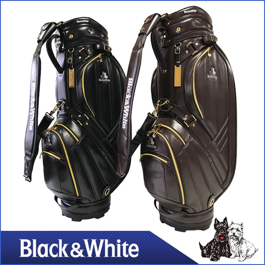 ブラック&ホワイト キャディバッグ BWMG7BCA クラシックキャディバッグ