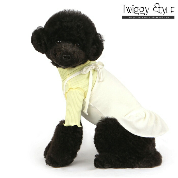 犬 服 ドッグウェア シンプル ドレス APPOINTMENT 海外限定 デポー DENTISTS 休日のお出かけにぴったり ショルダードレスホワイト 犬服