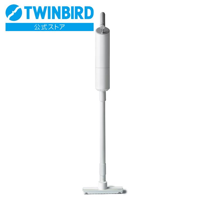 【公式】【アウトレット・数量限定】コードレススティック型クリーナー  ツインバード 掃除機 スティッククリーナー コードレス コードレス掃除機 スティック クリーナー twinbird コードレスクリーナー スティック掃除機 軽量 軽い スティック型掃除機 TC-E262WOLT
