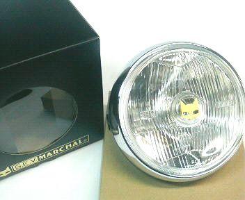 CB250N CB400N マーシャルヘッドライト