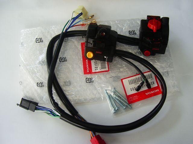 CBX400F/CBX550F ハンドルスイッチ