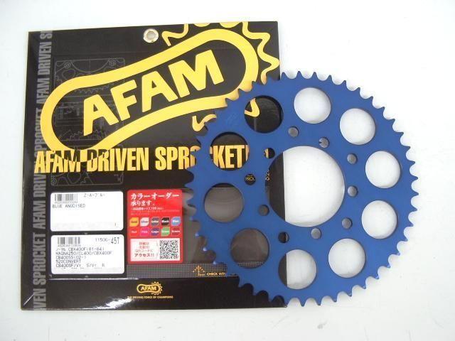 CBX400F XAM 旧AFAM ブルーカラー スプロケット